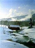 Winter Landscape 8 Art Print