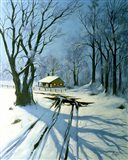 Winter Landscape 10 Art Print