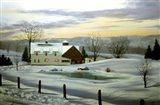 Winter Landscape 11 Art Print