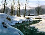 Winter Landscape 12 Art Print