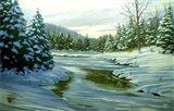 Winter Landscape 14 Art Print
