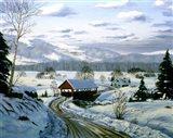 Winter Landscape 15 Art Print