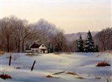 Winter Landscape 16 Art Print