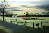Winter Landscape 17 Art Print