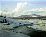 Winter Landscape 18 Art Print