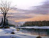 Winter Landscape 19 Art Print