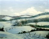 Winter Landscape 20 Art Print