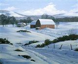 Winter Landscape 21 Art Print