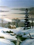 Winter Landscape 22 Art Print
