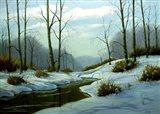Winter Landscape 24 Art Print