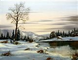 Winter Landscape 25 Art Print