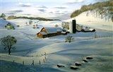 Winter Landscape 26 Art Print