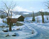 Winter Landscape 28 Art Print