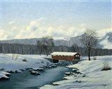 Winter Landscape 29 Art Print