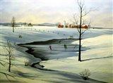 Winter Landscape 30 Art Print