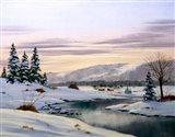 Winter Landscape 31 Art Print