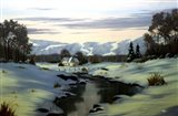 Winter Landscape 34 Art Print
