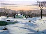 Winter Landscape 35 Art Print