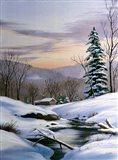 Winter Landscape 36 Art Print