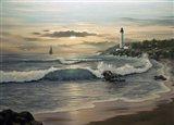 Lighthouse 6 Art Print