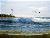 Waves 5 Art Print