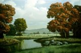 Autumn Trees 1 Art Print
