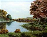 Autumn Trees 3 Art Print