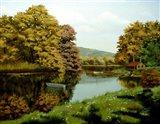 Autumn Trees 4 Art Print