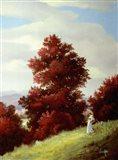 Autumn Trees 5 Art Print