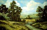 Summer Landscape 2 Art Print