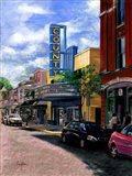 County Theater Art Print