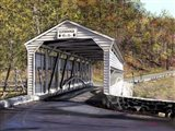 Knox Bridge - Valley Forge Pa Art Print