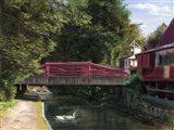 Machanic Street Bridge Art Print
