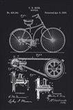 1890 Bicycle Art Print