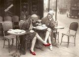 New Shoes Paris 1925 Art Print