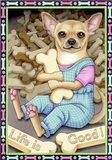 Chihuahua Cookies Art Print