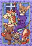 Chihuahua Toys Art Print