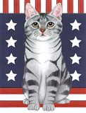 Patriot Cat Art Print