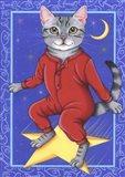 Star Cat Art Print