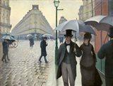 Paris Street, A Rainy Day Art Print