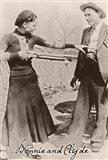 Bonnie And Clyde I Art Print