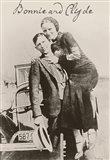 Bonnie And Clyde Ii Art Print