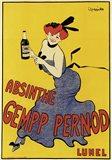 Abinsthe Gemp Pernod Art Print