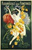 Fleurissez vos Fenetres Art Print