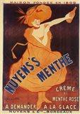 Nuyens Menthe Art Print