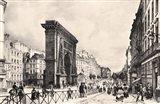 Paris Port Saint Denis 1835 Art Print