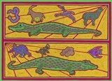 A Alligators Art Print