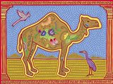 C Camel Art Print