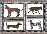 D Dog Art Print