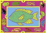 F Fish Art Print